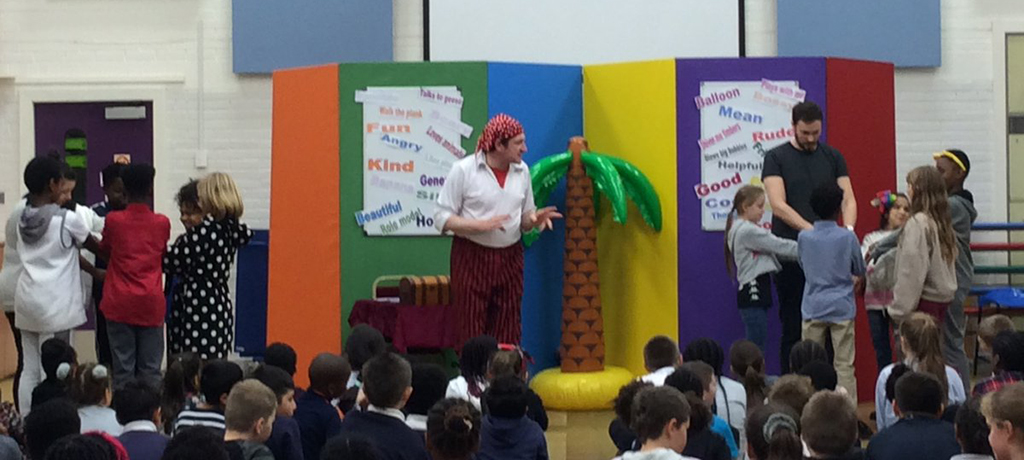 Anti-bullying assembly with BURT Theatre