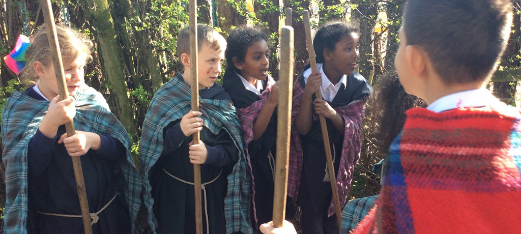 Year 3 went back to the Stone Age!